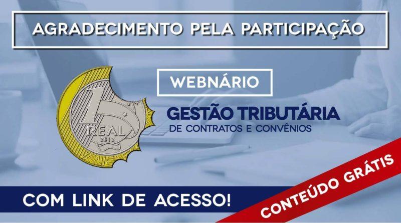 Webnário realizado em parceria com a Sevillha Contabilidade