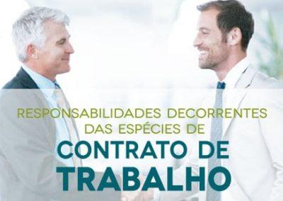 Curso Responsabilidades Contrato de Trabalho – Espécies de contrato