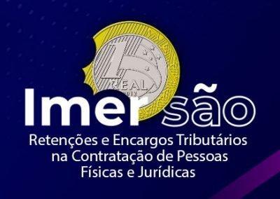 Curso Presencial Imersão em Retenções e Encargos Tributários na Contratação de Pessoas Físicas e Jurídicas