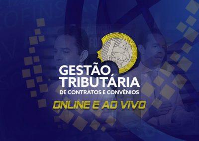 Curso Online Gestão Tributária de Contratos e Convênios AO VIVO