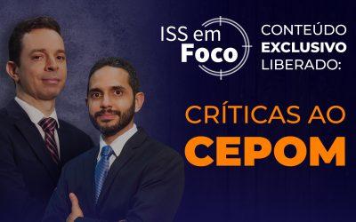 Críticas ao CEPOM
