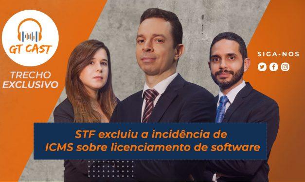 STF excluiu a incidência de ICMS sobre licenciamento de software