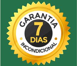 7 dias de garantia Curso Online