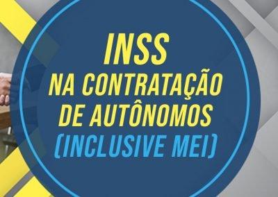 Retenção de INSS na Contratação de Autônomos